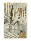 Grand Staircase, Library of Congress, Washington D.C. Posters