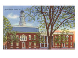 State House, Dover, Delaware Poster