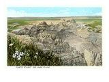 Dante's Delight, Badlands, South Dakota Posters