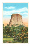 Devil's Tower, Black Hills, South Dakota Posters