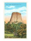 Devil's Tower, Black Hills, South Dakota Poster