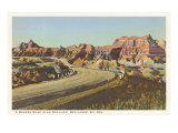 Badlands, South Dakota Posters