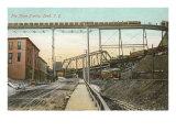 Train Tracks, Lead, South Dakota Posters