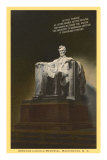 Lincoln Statue, Washington D.C. Poster