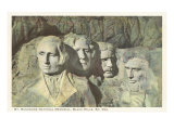Mt.Rushmore, South Dakota Poster