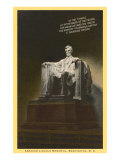Lincoln Statue, Washington D.C. Posters