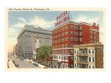 Hotel Darling, Wilmington, Delaware Poster