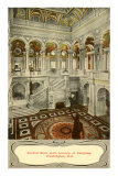 Central Stair Hall, Library of Congress, Washington D.C. Posters