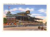 Delaware Park Race Track, Wilmington, Delaware Poster