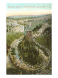 Horseshoe Curve, Black Hills, South Dakota Poster