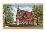 Zwaanendael House, Lewes, Delaware Print