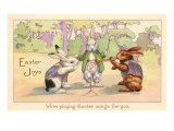 Easter Joys, Were Playing Easter Songs for You Print
