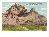 Devil's Dome, Badlands, South Dakota Posters