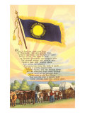 South Dakota State Flag and Song Posters