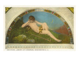 Endymion, Library of Congress, Washington D.C. Poster