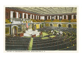 House of Representatives, Washington D.C. Print