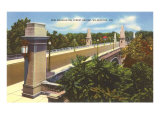 Washington Street Bridge, Wilmington, Delaware Posters