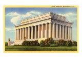 Lincoln Memorial, Washington D.C. Print