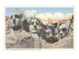 Mt. Rushmore, South Dakota Print