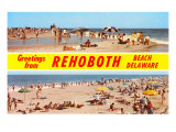 Greetings from Rehoboth Beach, Delaware Posters