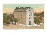 Masonic Temple, Washington D.C. Posters