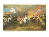 Painting of Cornwallis, Capitol, Washington D.C. Posters