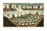Senate Chamber, Capitol, Washington D.C. Posters