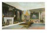 State Dining Room, White House, Washington D.C. Posters