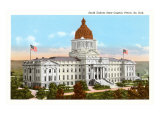 State Capitol, Pierre, South Dakota Posters