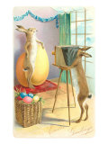 Easter Greetings, Rabbit Photography Posters