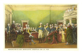 Painting of Washington&#39;s Resignation Posters