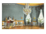 Blue Room, White House, Washington D.C. Print