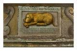 The Golden Dog Bas-Relief in Quebec Posters
