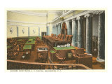 Supreme Court Room, Washington D.C. Poster