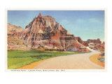 Vampire Peak, Bad Lands, South Dakota Posters