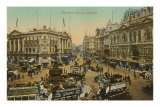 Picadilly Circus, London, England Poster
