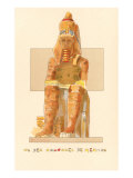 Colossus of Memnon, Rendering, Egypt Posters