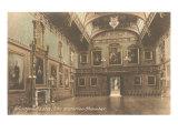 Waterloo chamber, Windsor Castle, England Posters