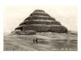 Stepped Pyramid, Sakhara, Egypt Print
