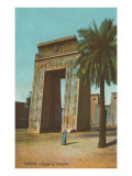Karnak, Portal of Euergetes, Egypt Print