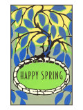 Happy Spring, Decorative Arts Posters