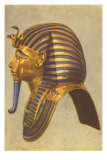 King Tut Funeral Mask, Egypt Print