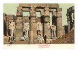 Ramesseum, Luxor, Egypt Posters