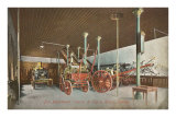 Fire House and Equipment, Chicago, Illinois Posters