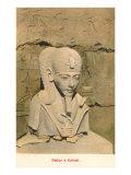 Pharaoh Bust, Karnak, Egypt Posters