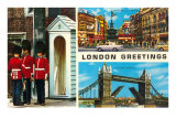 London Greetings, Views, London, England Posters