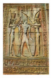 Egyptian Bas-Relief Print