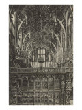 Henry VII Chapel, Westminster Abbey, London, England Print