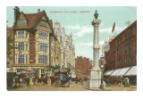 Kensington High Street, London, England Posters