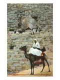 Entrance to the Great Pyramid, Egypt Posters